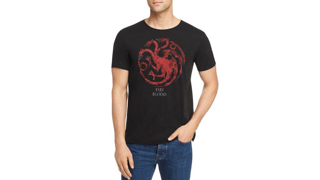 Purchase John Varatos Star USA  Game Of Thrones House Targaryen Graphic Tee On Bloomingdale's Father's Day Sale Through Lemoney