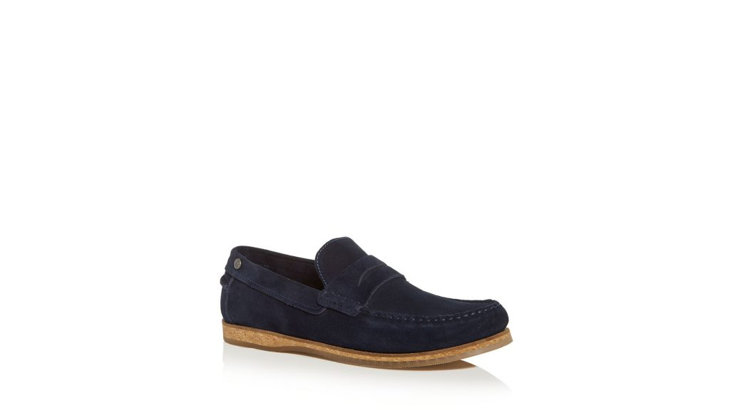 Purchase Original Penguin  Men's Charles Suede Moc-Toe Penny Loafers On Bloomingdale's Father's Day Sale Through Lemoney