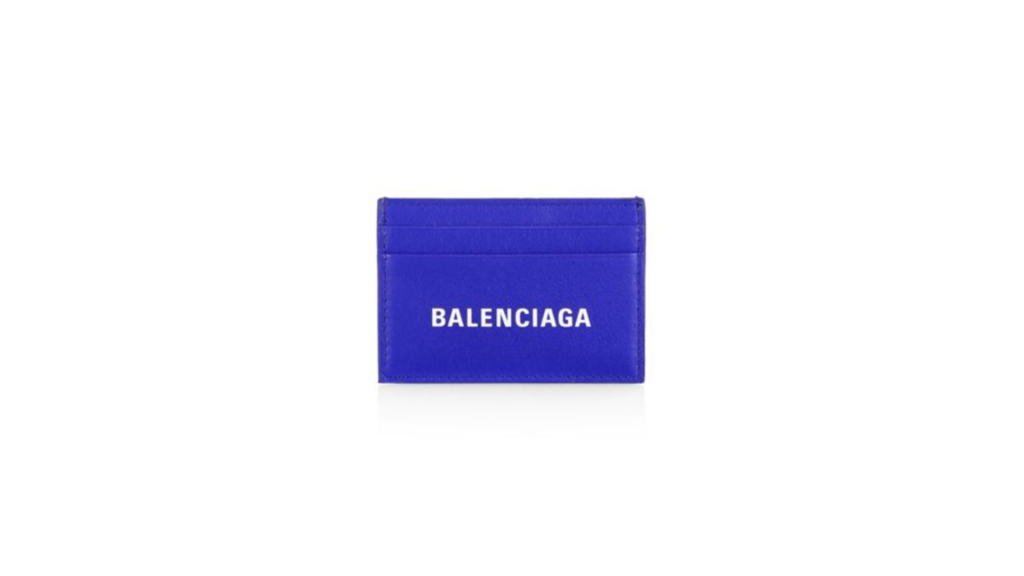 Balenciaga Everyday Logo Credit Card Holder On Saks Father's Day Sale Through Lemoney