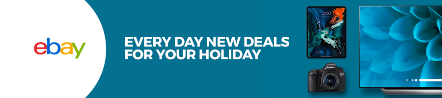 banner ebay every day new deals for your holidays