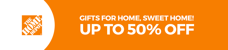 banner home depot gifts for home, sweer home up to 50% off