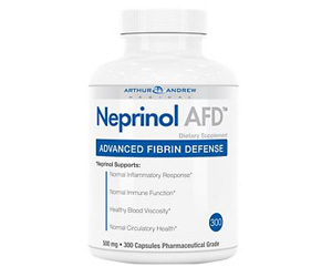 Neprinol AFD Advanced Fibrin Defense - 500 MG (300 Capsules)