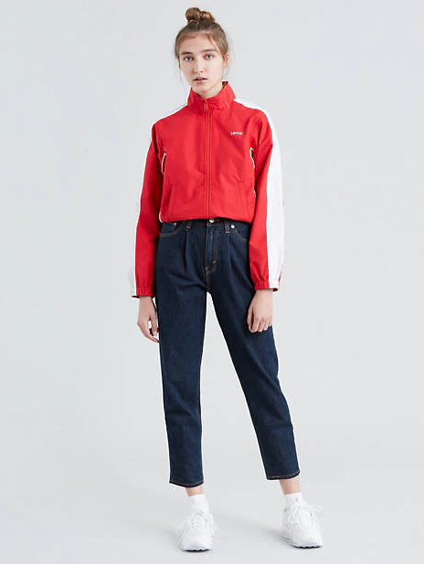 Stranger Things Vintage Outfits Pleated Mom Jeans Levis