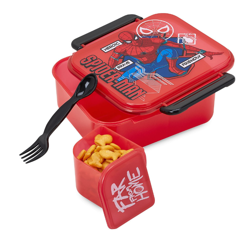 Disney Back to School Spider-Man Food Storage Set
