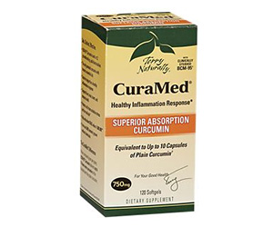 CuraMed Super Absorption Curcumin - 750 MG (120 Softgels).