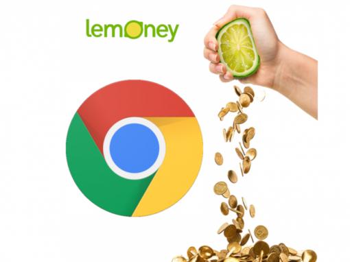 Lemoney Cash Back Chrome Extension - The best reward extension
