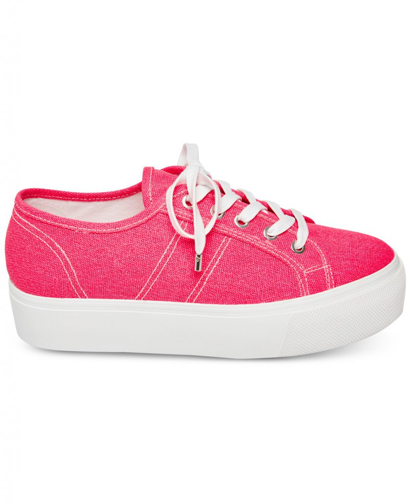 Macy's Back To School Coupons - Emmi Flatform Lace Up Sneakers