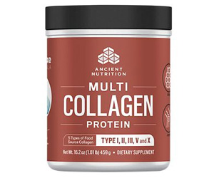 Multi Collagen Protein Powder - Unflavored (58 Servings).