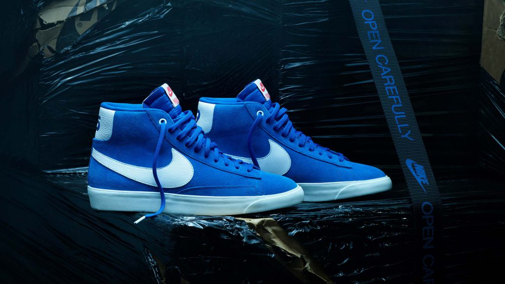 Nike And Stranger Things Blazer Mid Shoes