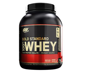 Gold Standard 100% Whey Protein - Double Rich Chocolate (74 Servings).