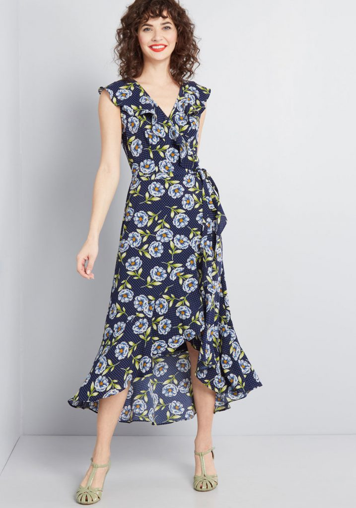 Modcloth Black Friday In July - Embody The Occasion Wrap Dress