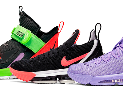 LeBron James Shoes & Sneakers by Nike