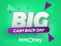 Big Cash Back Day Coupons and Deals by Lemoney