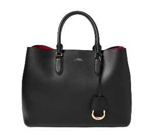 Ralph Lauren Dryden Marcy Leather Tote