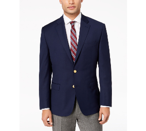 Ralph Lauren Men's Classic-Fit Ultra Tech Solid 10-Pocket Blazer