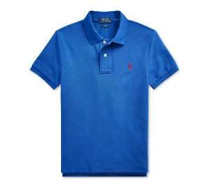 Ralph Lauren Big Boys Basic Mesh Knit Polo Shirt