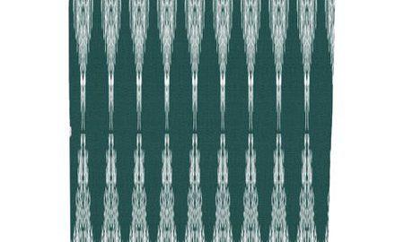 Peace 1, Geometric Print Shower Curtain