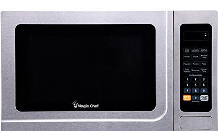Magic Chef Mcd1310st 1.3-cubic Ft Countertop Microwave [stainless Steel]