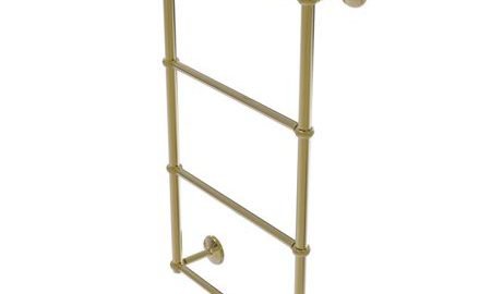 Monte Carlo Collection 4 Tier 30 Inch Ladder Towel Bar with Twisted Detail