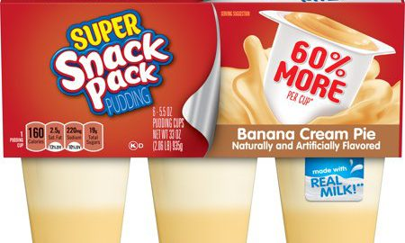 Super Snack Pack Banana Cream Pie Pudding, 5.5 Ounce (6-Count)