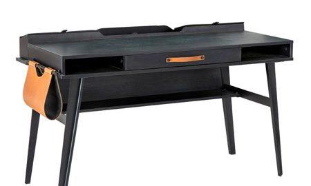 Dark Metal Desk