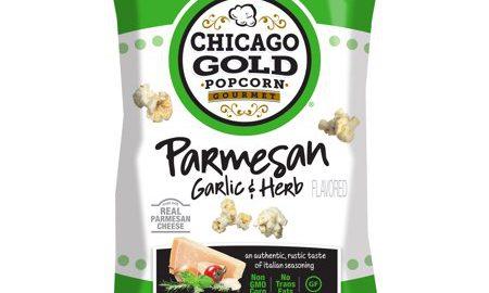 Chicago Gold Popcorn - Parmesan Garlic & Herb Popcorn