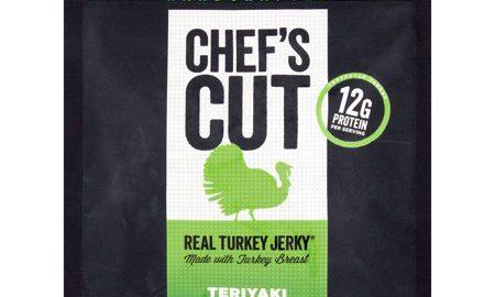 Chef's Cut Real Turkey Jerkey Teriyaki, 2.5 oz, 8 pack