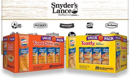 Lance Toasty and Toastchee Assorted Sandwich Crackers, 40 Ct