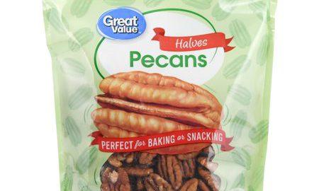 Great Value Pecan Halves, 8 oz