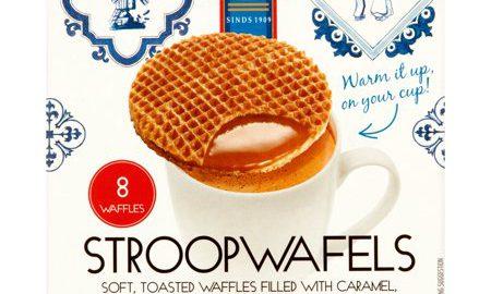 Daelmans Caramel Stroopwafels, 1.94 oz, 8 pack