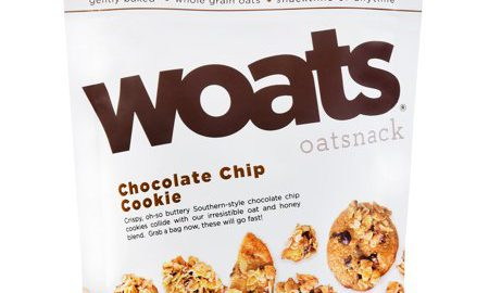 Woats Oatnsnack Chocolate Chip Cookie