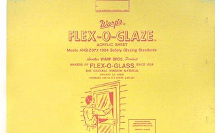 Warp Brothers 28in. x 30in. Flex-O-Glaze Acrylic Safety Glaze 80G-2830 - Pack of 6