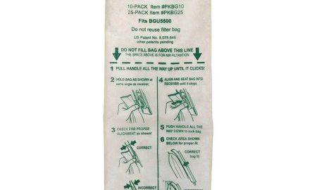 "Bissell BigGreen 14"" Upright Vacuum Cleaner Bags, PKBGI0, 10 count"