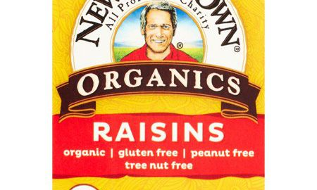 Newman's Own Organics Raisins, 1 Oz, 6 Ct
