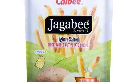 Calbee Jagabee Potato Sticks, Lightly Salted, 113.4 Gm