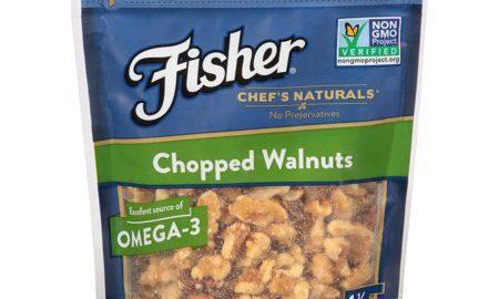 Fisher ® Chef's Naturals ® Chopped Walnuts 6 oz. Bag