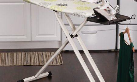 Household Essentials Wide Top Steel Ironing Board