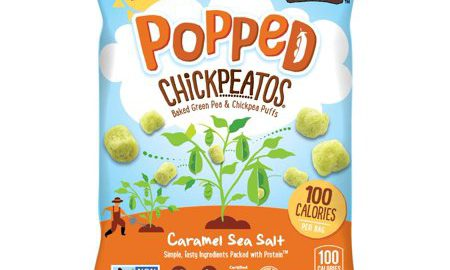 18 pack 100 cal Caramel Sea Salt POPPED Chickpeatos
