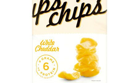 Ips Chips White Cheddar The Protein Snack, 3 oz, 12 pack