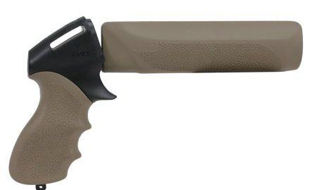Hogue Remington 870 12 Gauge Tamer Shot- Gun Handgun Grip and Forend Flat Dark Earth