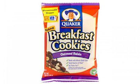 Quaker Breakfast Cookie Oatmeal Raisin, 50 Count