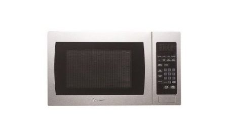 Magic Chef Mcm990st .9 cu ft, 900-watt Microwave with Digital Touch, Stainless Steel