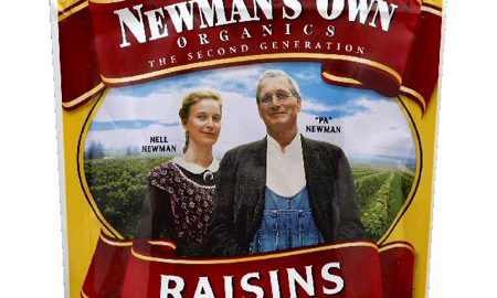 Newmans Own Organics Raisins