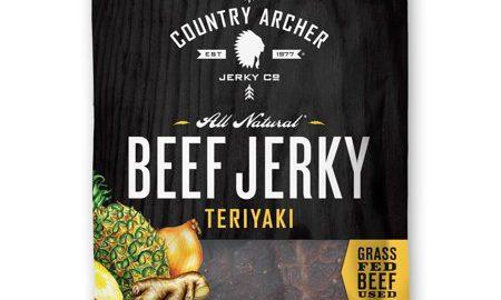 Country Archer Teriyaki, beef jerky 1.5oz