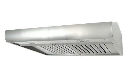 Kobe CH2736SQB-1 720 CFM 36 Inch Wide Stainless Steel Under Cabinet Range Hood w
