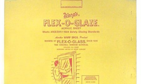 Warp Brothers 30in. x 34in. Flex-O-Glaze Acrylic Safety Glaze 100G-3034 - Pack of 5