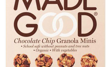 Made Good Granola Minis, Chocolate Chip, 3.4 Oz, 6 Ct