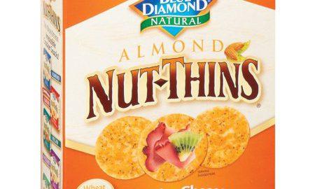 Nut-Thins ® Cheddar Cheese Nut; Rice Cracker Snacks 4.25 oz. Box