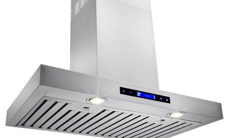 """AKDY 30"""" Stainless Steel Wall Mount Powerful Range Hood Kitchen Stove Vents Touch Panel with Remote Control"""