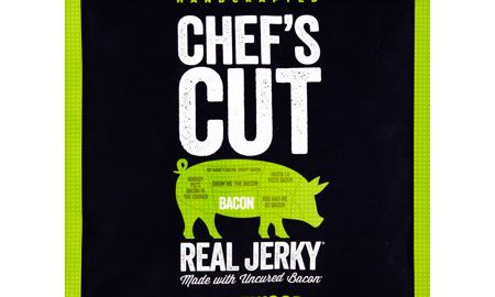 Chef's Cut Real Jerky Applewood Uncured Bacon Jerky, 2.0 oz, 8 pack